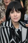 Lily Allen, London Fashion Week