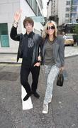 Liam Gallagher and His Wife Nicole Appleton