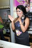 Lil' Kim At Millions Of Milkshakes On Santa Monica Boulevard. It Is Also Her Birthday Today