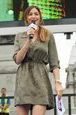 Lisa Snowdon, Trafalgar Square