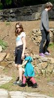 Liv Tyler and family friends enjoying the weekend with a visit to Griffith Park in Santa Monica