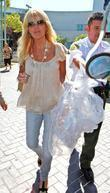 Dina Lohan  leaves Lynwood Correctional Facility after...