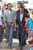 Luke Perry and Jason Priestley