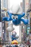 Smurf balloon 84th Macy's Thanksgiving Day Parade in...