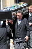 Pallbearers Carry Malcom Mclarens Coffin From...