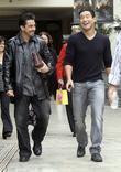 Mario Lopez and Dane Cook
