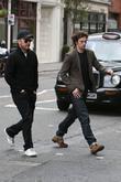 Matthew Vaughn and Aaron Johnson