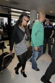 Mel B, aka Mel B, husband Stephen Belafonte arrive at LAX airport on a Virgin Atlantic flight from London Heathrow.