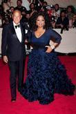 Oscar de la Renta and Oprah Winfrey