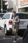 Michael C. Hall  is seen leaving Kings...