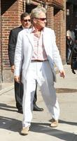 Michael Douglas, David Letterman and Wall Street