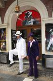 Ricko Baird and Michael Jackson