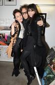 Jaime Winstone, Daisy Lowe and Mick Rock