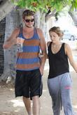 Miley Cyrus and Her Boyfriend Were Spotted Heading To The Gym In West Hollywood