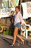 Miley Cyrus leaves sushi restaurant Matsuya in Studio...