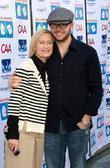 Damon Lindelof with his wife