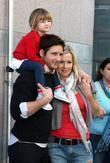 Peter Facinell with his daughter Fiona Eve Facinelli