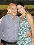 Necar Zadegan with her Father