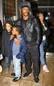 Ashley Walters With His Family