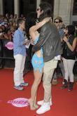 Katy Perry hugs Ryland Blackinton  2010 MuchMusic...