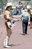 Naked Cowboy Aka Robert John Burck