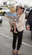 Naomi Watts and Her Son Samuel 'sammy' Kai Schreiber Outside Lax