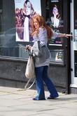 A Heavily Pregnant Natasha Hamilton
