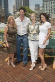 Kathie Lee Gifford, Eduardo Xol and Kelly Rutherford