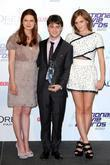Bonnie Wright, Daniel Radcliffe and Emma Watson National...