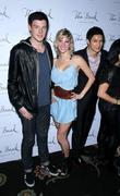 Cory Monteith, Glee, Heather Morris, Las Vegas and Naya Rivera