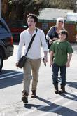 Nick Jonas and his younger brother Frankie Jonas