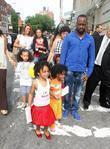 Wyclef Jean and his daughter Angelina Claudinelle