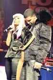 Drake and Nicki Minaj Nicki Minaj performs live...