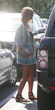 Nicky Hilton was spotted out and about in...
