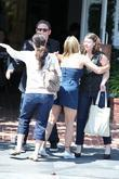 Nicole Eggert Shopping With Friends At Fred Segal In West Hollywood