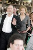 Nicole Kidman and Harvey Weinstein