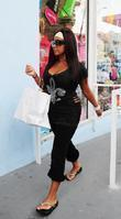 Nicole 'Snookie' Polizzi was spotted shopping in Miami Beach