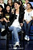 Nikki Yanofsky Canadian jazz-pop singer visits Much Music's...
