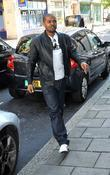 Noel Clarke Arriving At Radio One