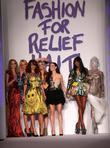 Naomi Campbell and models