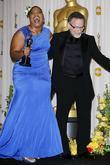 Mo'Nique and Robin Williams