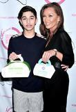 Mark Indelicato and Vanessa Williams Grand opening celebration...