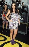 Anabelle Acosta attend the NY movie premiere of...
