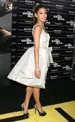 Eva Mendes  attend the NY movie premiere...