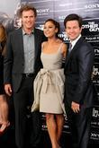 Will Ferrell, Eva Mendes and MarkWahlberg New York...