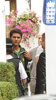 Abdul Razzaq The Pakistani Cricket team leaving their...