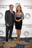 Al Michaels and Mary Hart