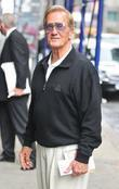 American singer Pat Boone out in Manhattan. The...