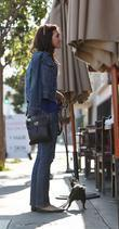 Model Torrey Devitto Having Lunch At Kings Road Cafe In West Hollywood