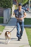 Vampire Diaries Star Paul Wesley Heads To Kings Road Cafe In West Hollywood With His Dog To Have Lunch